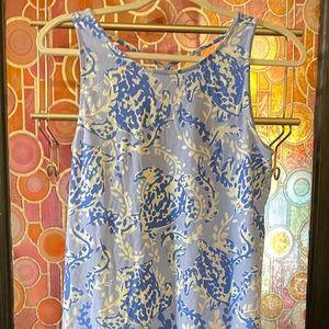 Lilly Pulitzer Small caged sleeveless mini dress